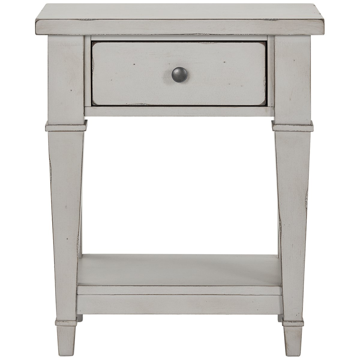 Stoney Gray 1-Drawer Nightstand