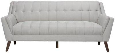 Brentwood Light Beige Fabric Sofa