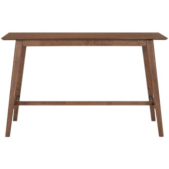 Simplicity Mid Tone Rectangular High Dining Table