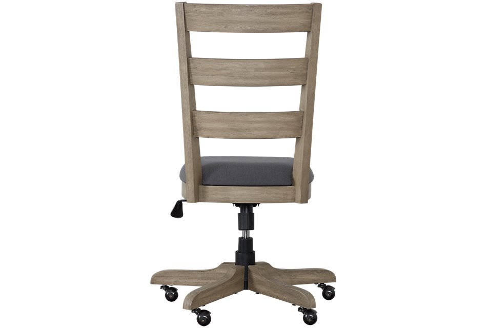 Vista Light Tone Wood Desk Chair