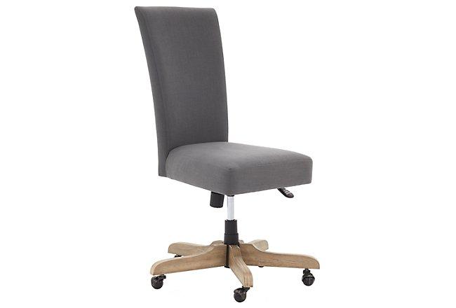 Vista Light Tone Upholstered Desk Chair