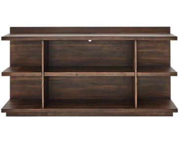 Vista Mid Tone Small Bookcase