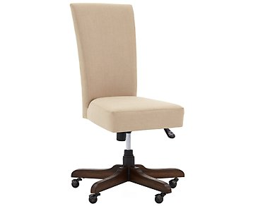 Vista Mid Tone Upholstered Desk Chair