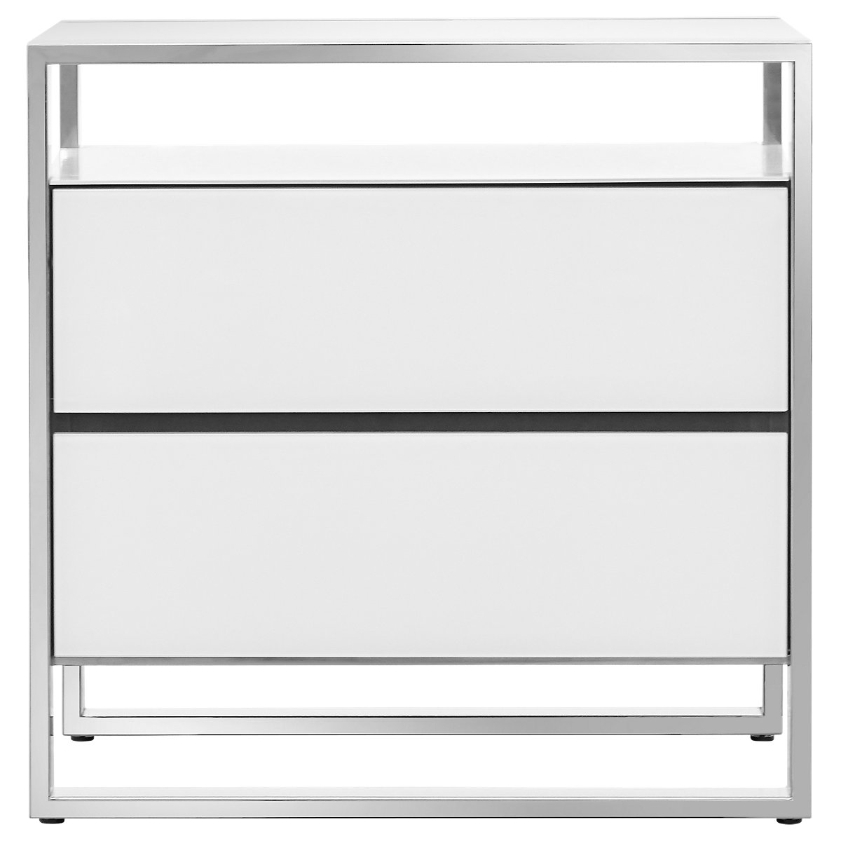 City Furniture State Street White Nightstand
