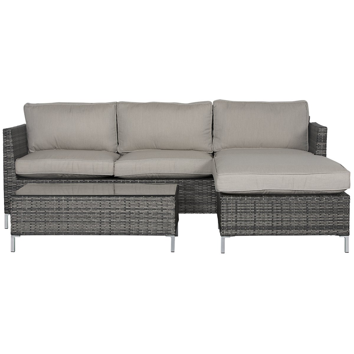 City Furniture: Monterey Gray Outdoor Living Room Set on Patio Living Room Set id=73867