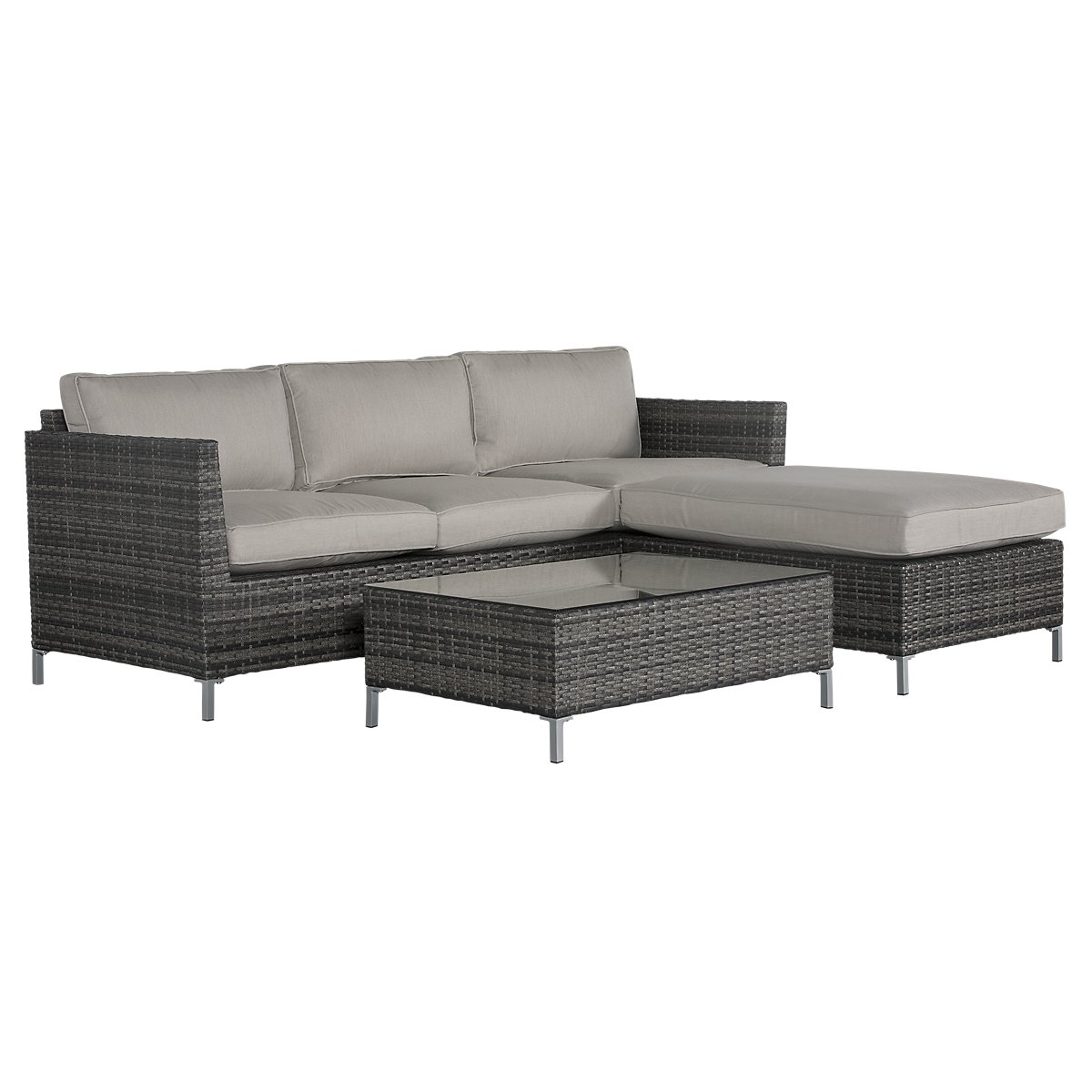 City Furniture: Monterey Gray Outdoor Living Room Set