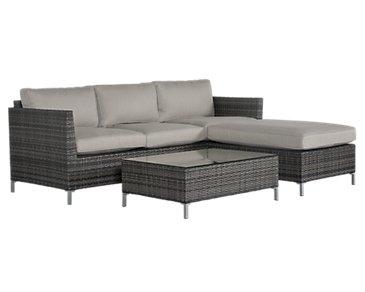 Monterey Gray Outdoor Living Room Set