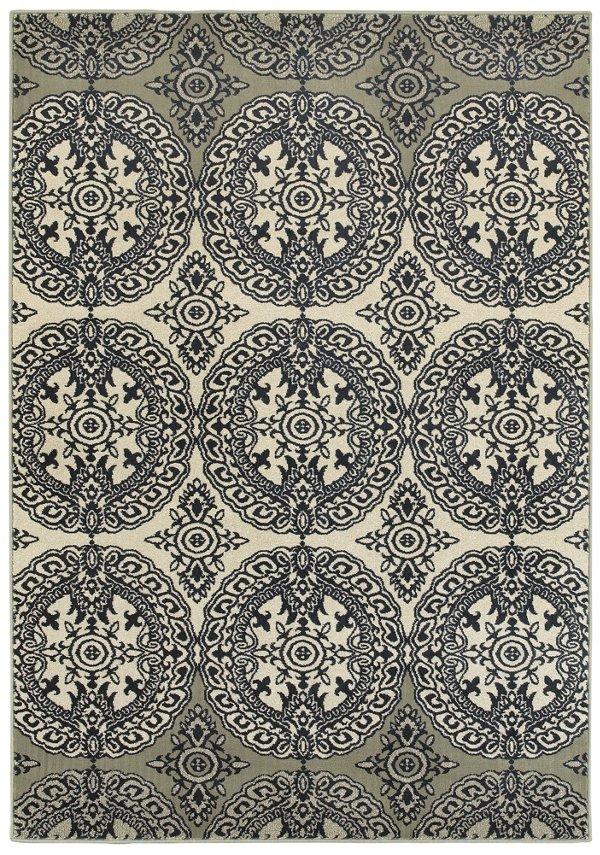 city furniture: linden dark blue 8x11 area rug 8x11 Area Rugs