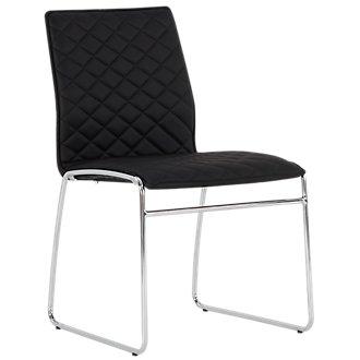 Skyline Black Metal Side Chair