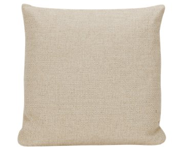Veronica Khaki Fabric Square Accent Pillow