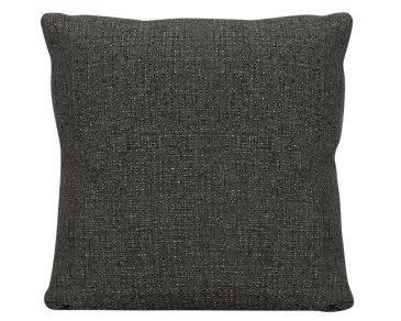 Veronica Dark Brown Fabric Square Accent Pillow