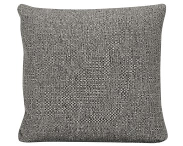 Veronica Gray Fabric Square Accent Pillow