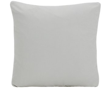 Corlis Light Gray Fabric Square Accent Pillow