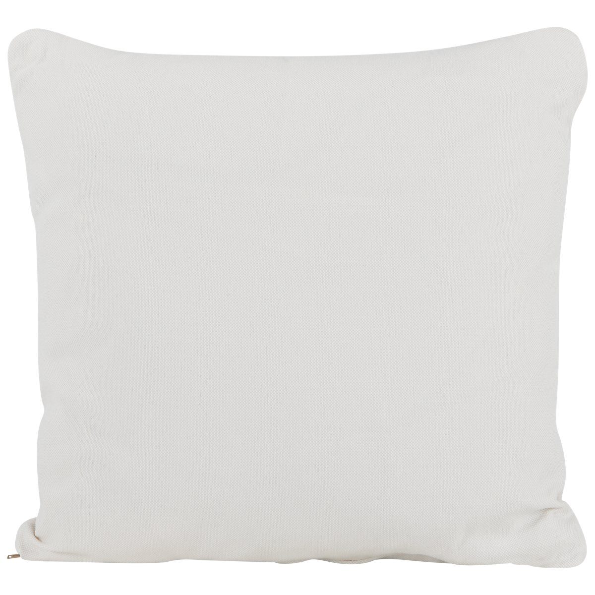 City Furniture: Turner White Fabric Square Accent Pillow