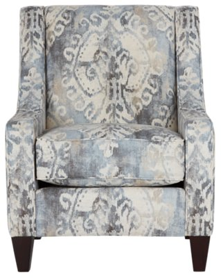 Soledad Gray Fabric Accent Chair. VIEW LARGER