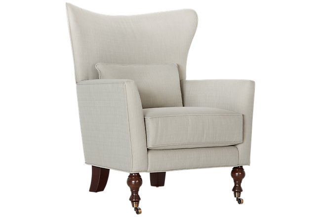 Taupe Accent Chairs.Lindley Taupe Fabric Accent Chair