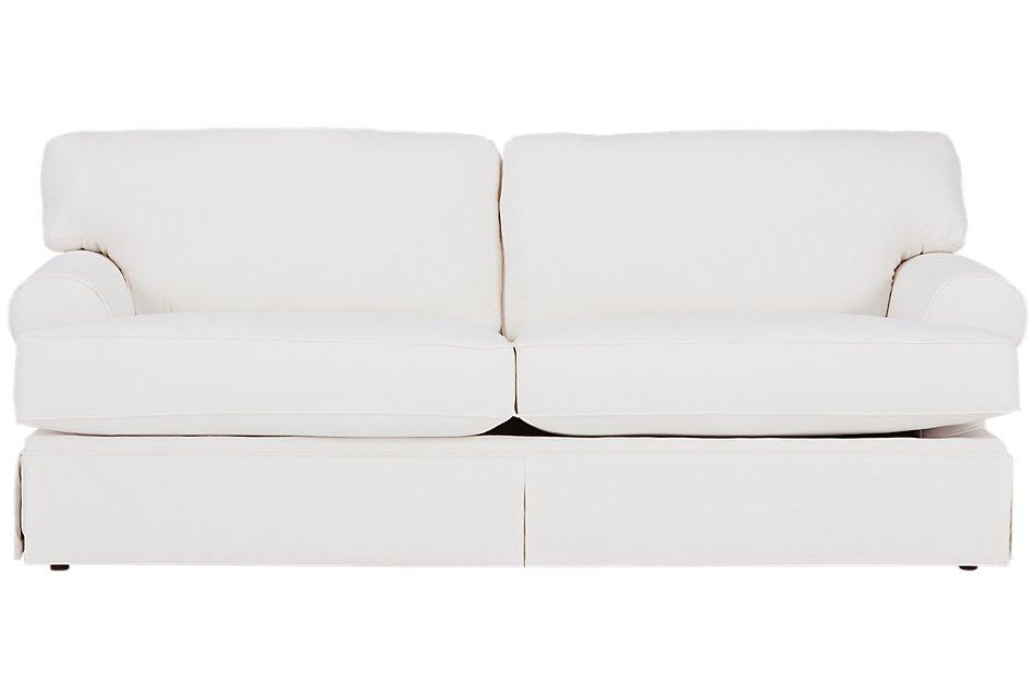 Turner White Fabric Sofa Living Room Sofas City Furniture