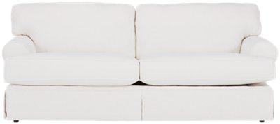 Image Of Turner White Fabric Sofa With Sku:4704905