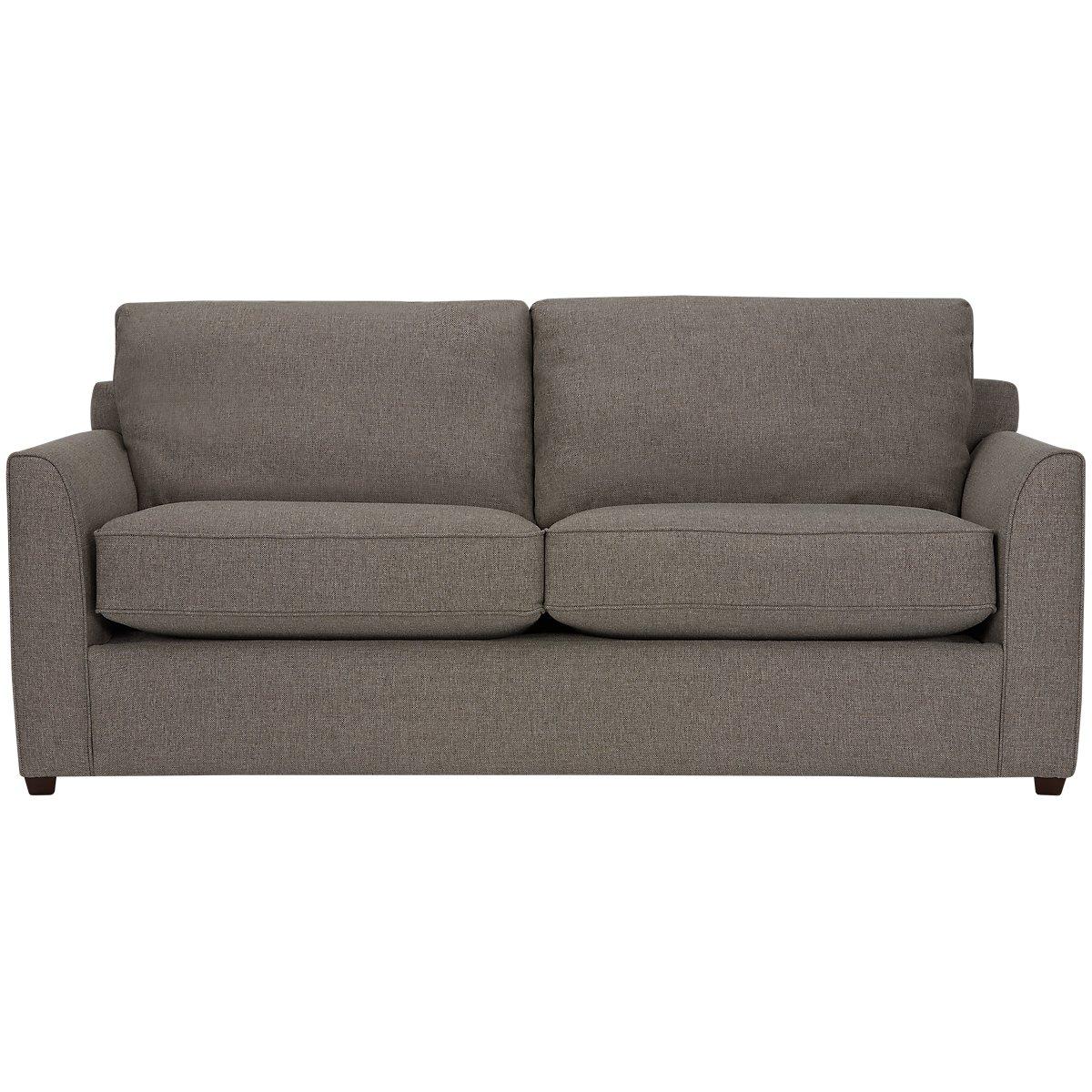 Asheville Brown Fabric Sofa