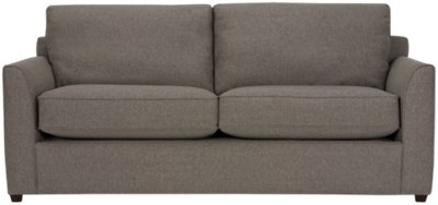 Image Of Asheville Brown Fabric Sofa With Sku:4707830