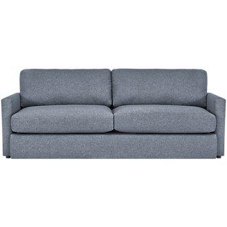 Noah Dark Gray Fabric Sofa