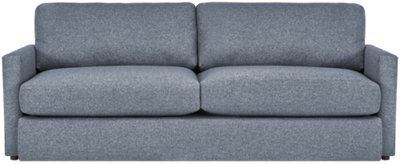 Genial Noah Dark Gray Fabric Sofa