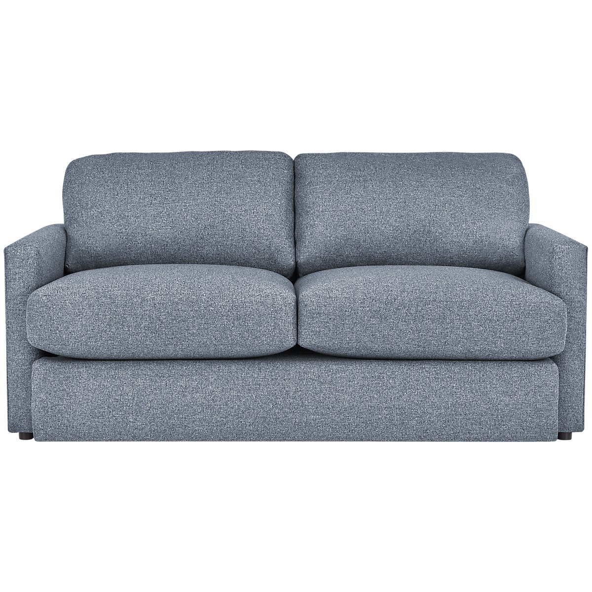 Noah Dark Gray Fabric Loveseat