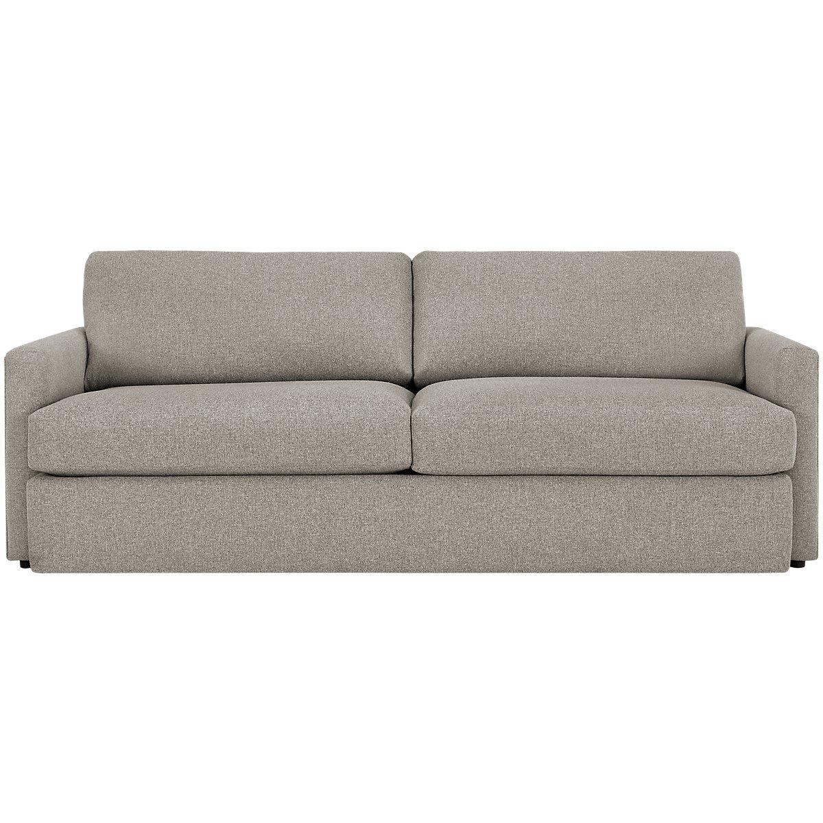 Noah Khaki Fabric Sofa