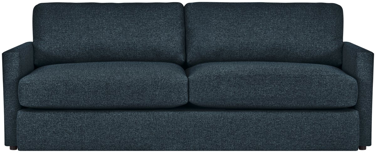 Noah Dark Blue Fabric Sofa
