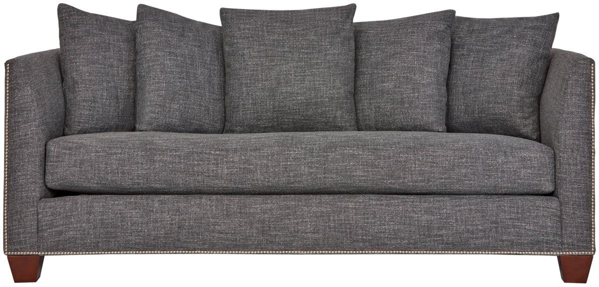 City Furniture Wren Dark Gray Fabric Sofa