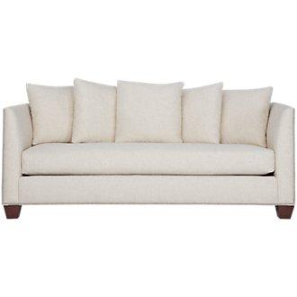 Wren Light Beige Fabric Sofa