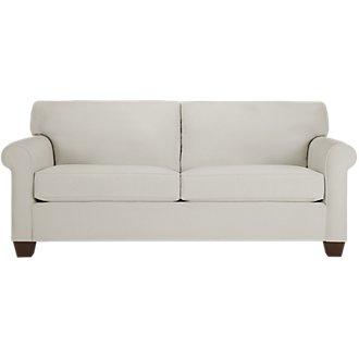 Corlis Light Gray Fabric Sofa