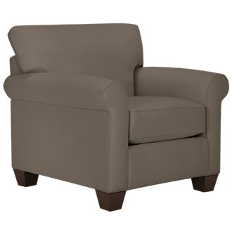 Corlis Dark Gray Fabric Chair