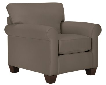 Corlis Dark Gray Fabric Chair