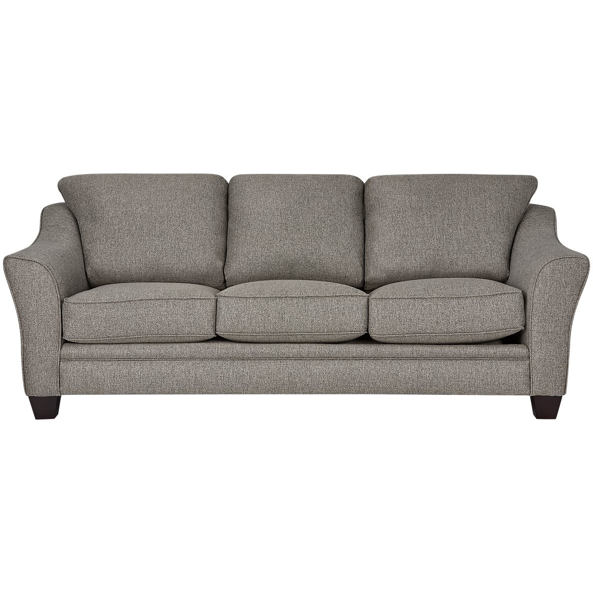 Avery Dark Gray Fabric Sofa