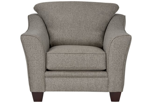 Avery Dark Gray Fabric Chair