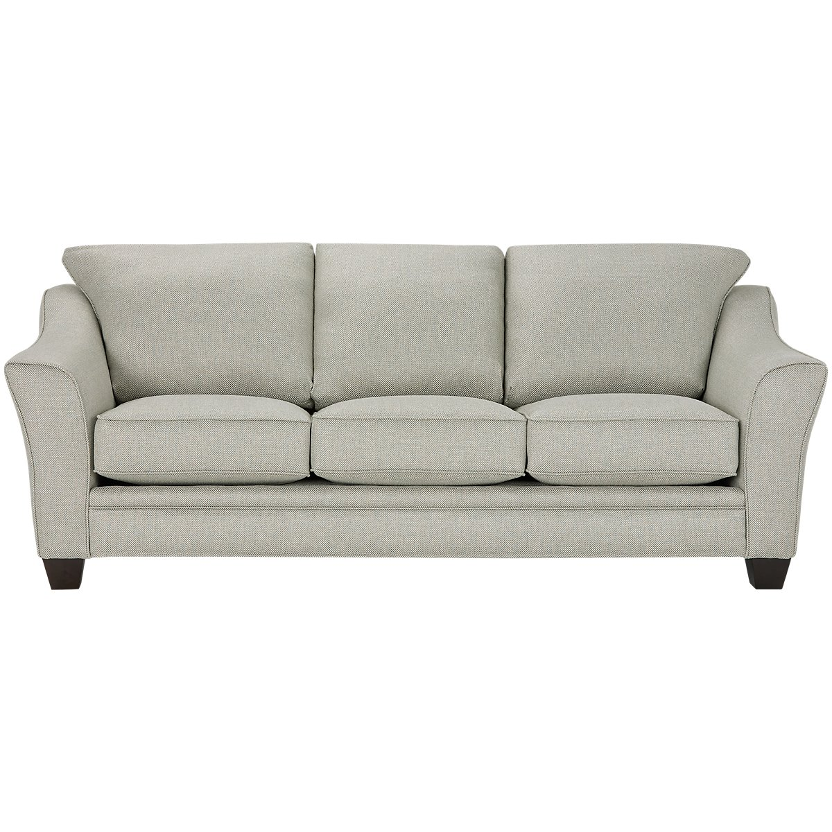 Avery Light Green Fabric Sofa