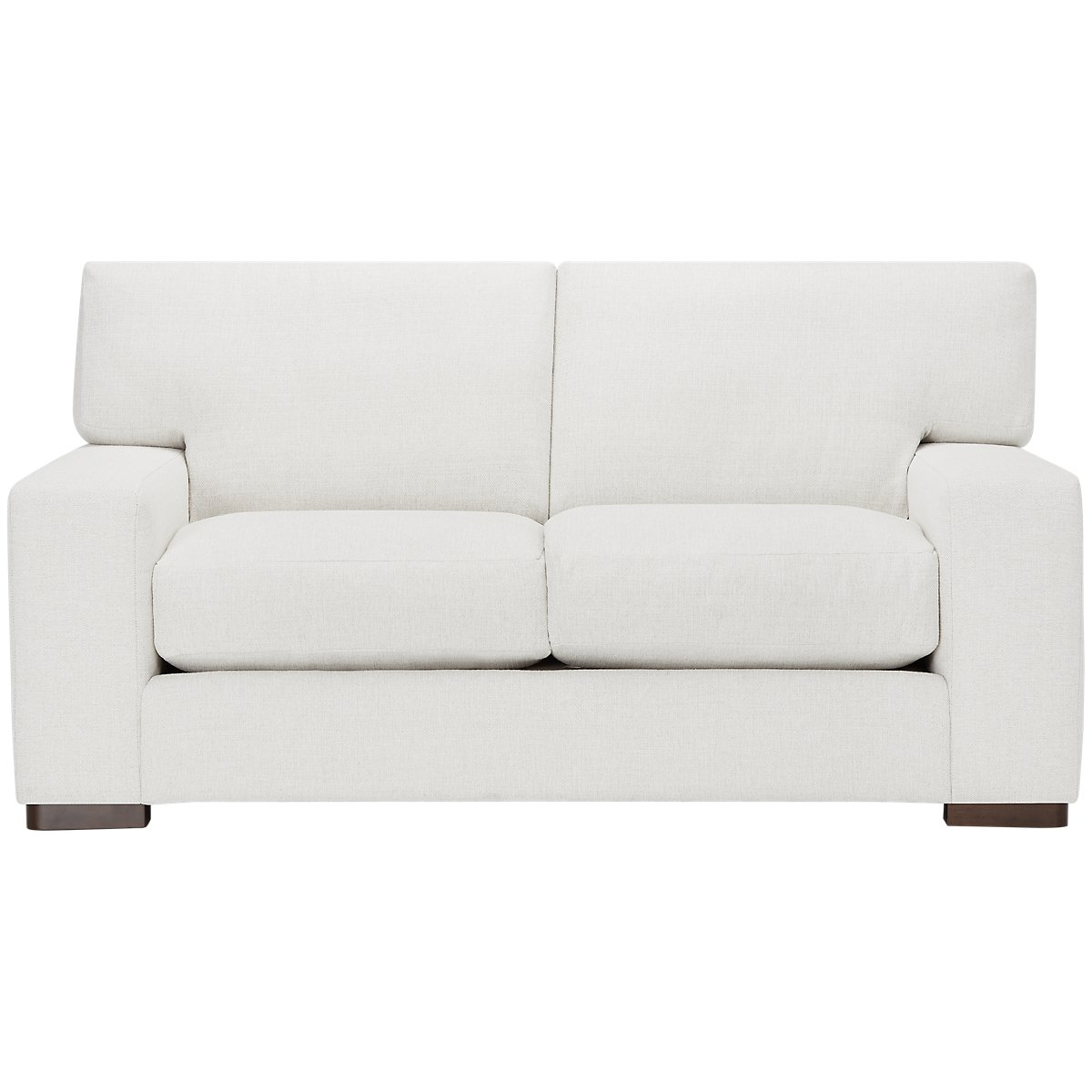 Veronica White Down Loveseat