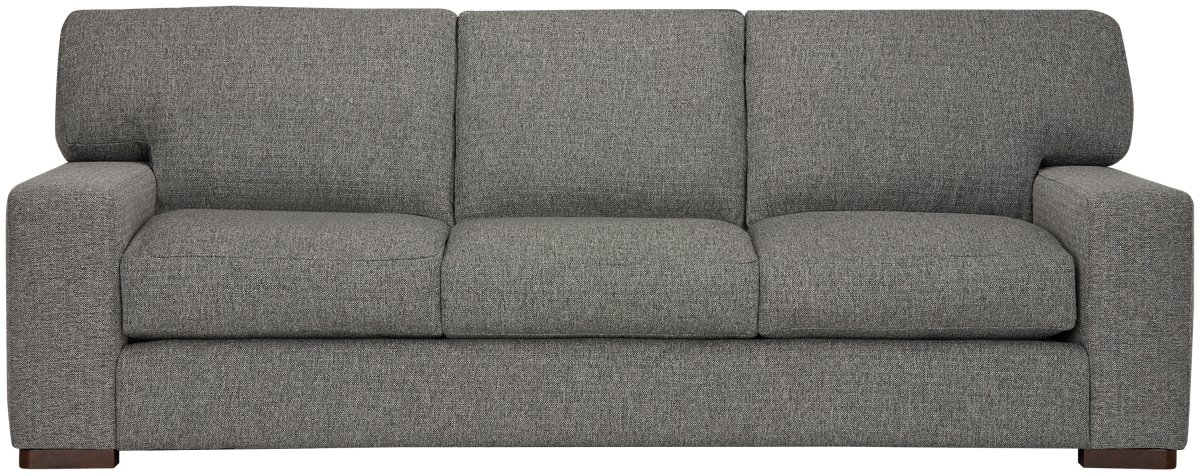 Veronica Gray Fabric Large Sofa