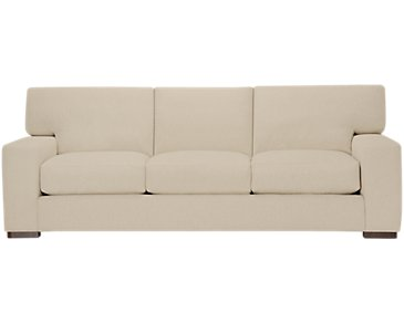 Veronica Khaki Down Large Sofa