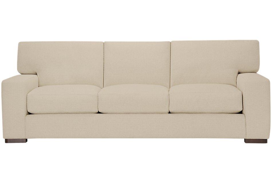 Veronica Khaki Fabric Large Sofa | Living Room - Sofas ...