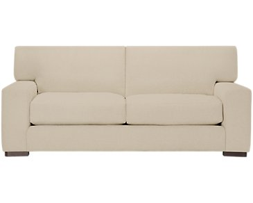 Veronica Khaki Down Small Sofa