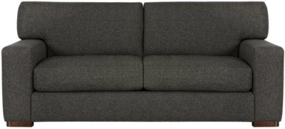 Delicieux Veronica Dark Brown Fabric Small Sofa | Living Room   Sofas | City Furniture