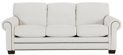 foster white fabric sofa rh cityfurniture com