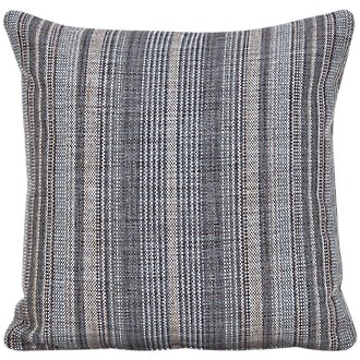 Nominate Gray Fabric Square Accent Pillow