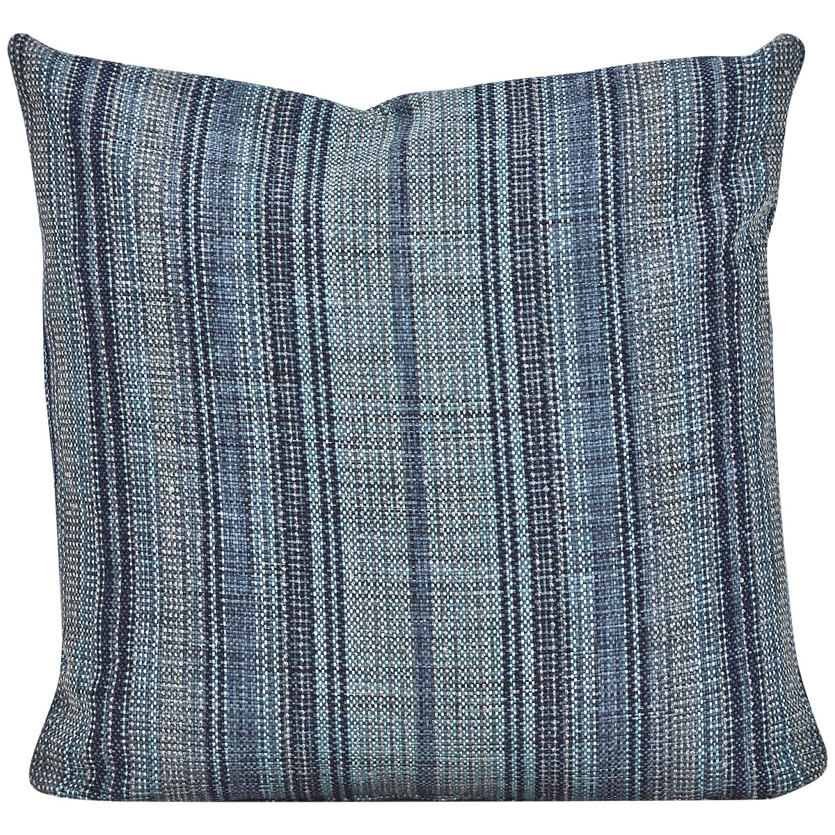 Nominate Blue Fabric Square Accent Pillow
