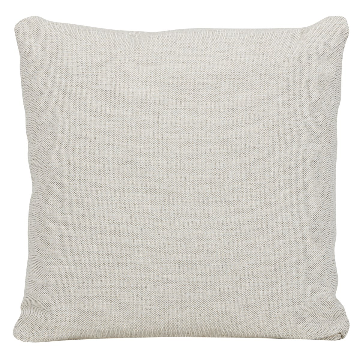 Asheville Light Taupe Fabric Square Accent Pillow