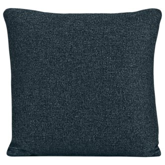 Noah Dark Blue Fabric Square Accent Pillow