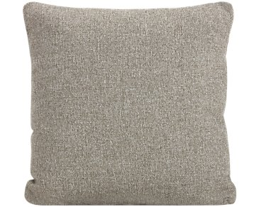 Noah Khaki Fabric Square Accent Pillow