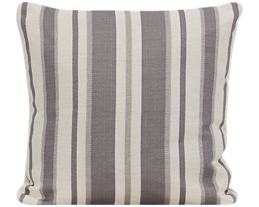 Chad Gray Fabric Square Accent Pillow